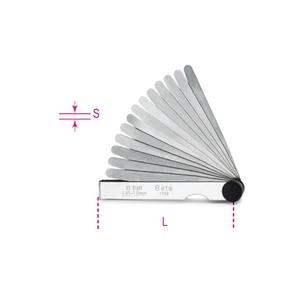 1708 /8-metric feeler gauges