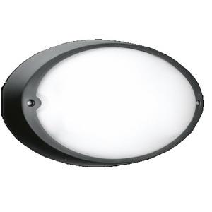 airy oval 300 e27 black