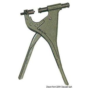 Pliers f. snap fasteners