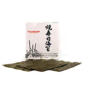 Dried seaweeds for sushi
