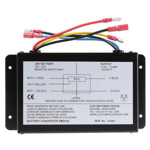 138W Fixed Installation Car Power Adapter, 19 → 32V dc / 13.8V dc