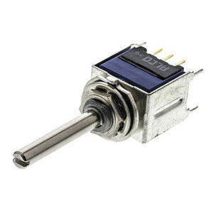 16 position straight HEX rotary switch