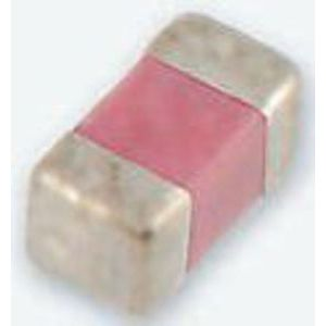 Phycomp 0201 Standard 100pF Ceramic Multilayer Capacitor, 25 V dc, +125°C, C0G Dielectric, ±5% SMD
