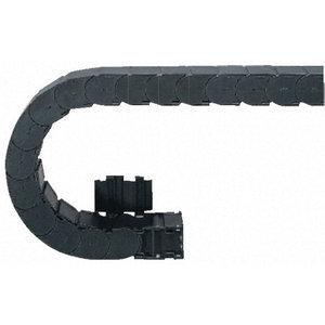 Igus 167, e-chain Black Igumid G Cable Chain Trunking, W193 mm x D64mm, L1m, 200 mm Min. Bend Radius