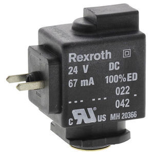 Aventics 24V dc 1.6W Replacement Solenoid Coil, Compatible With PS1, PVL