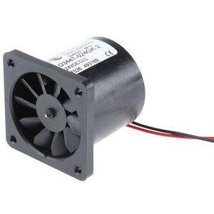 DC Axial Fan, 40 x 40 x 36mm, 16.56m³/h, 0.96W, 24 V dc (D340T Series)