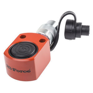 Hi-Force Single, Portable Low Height Hydraulic Cylinder, HPS100, 10T, 10mm Stroke