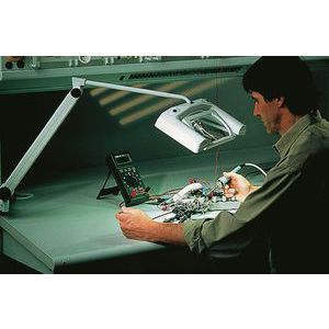 Waldmann SNL 319 Bench Magnifier, 3dioptre, 9W