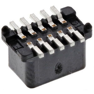 JAE 0.8mm 10 Way 2 Row Straight PCB Socket PCB Mount Board to Board
