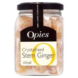 OPIES CRYSTALLIZED GINGER 200G