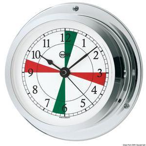 Barigo clock radiosector chrom