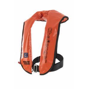 Worksafe 300N Auto & Harness Red Nylon Lifejacket