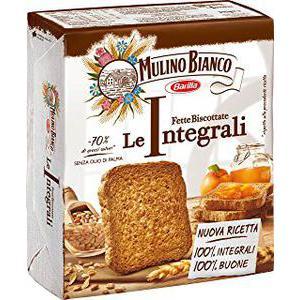 Rusk toast.mul.bianco Integrali Gr315